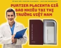 Purtier Placenta Giá Bao Nhiêu Tại Thị Trường Việt Nam