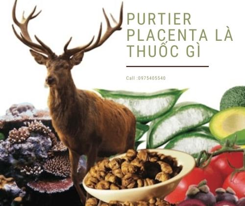 Purtier placenta là thuốc gì