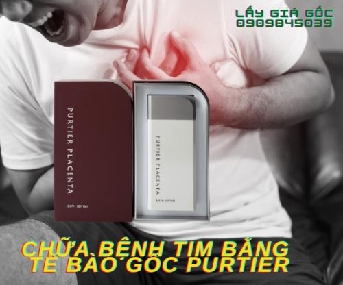 CHỮA BỆNH TIM BẰNG TẾ BÀO GỐC PURTIER - 1 LIỆU TRÌNH 7 HỘP