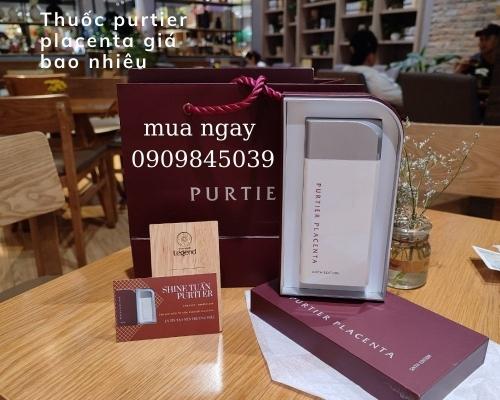 Thuốc purtier placenta giá bao nhiêu